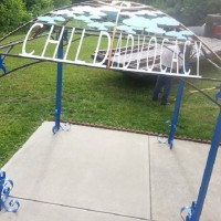 Beautiful Gazebo Designed and Built by Boone County Technical School